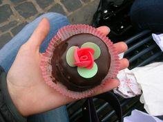 Italian orange chocolate mini cake