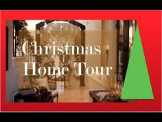 Christmas Decorating ideas Christmas Decorations and how to Decorate your home for Christmas as Interior Designer Rebecca Robeson takes you on a Tour of the ...