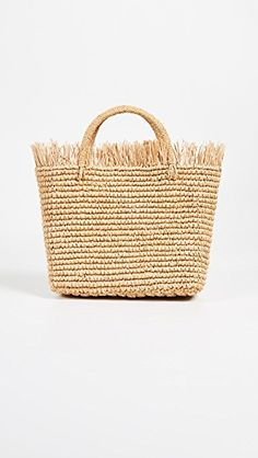 The Daily Hunt: Rattan Daybed and More! Rattan Daybed, Straw Tote, Style Guides, Wicker, Bamboo, Tote Bag, Stuff To Buy, Bags, Studio