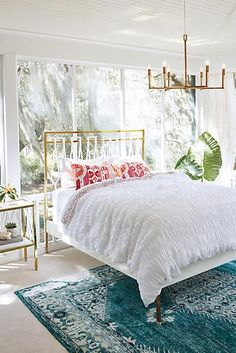 Balustrade Bed - anthropologie.com