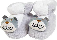 Babyschuhe, Grau, 0 - 6 Monate - http://on-line-kaufen.de/galaxie/0-6-monate-babyschuhe-krabbelschuhe-puschen-und-0-4