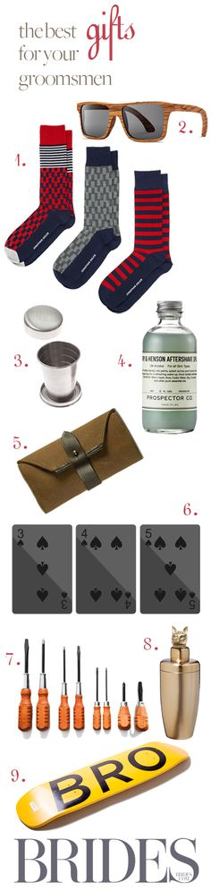 @BRIDES' 2013 Holiday Gift Guide: Gift for Your Groomsmen | Click for all the details!