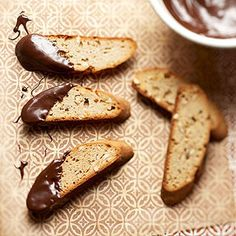Gone Bananas Biscotti From Better Homes and Gardens, ideas and improvement projects for your home and garden plus recipes and entertaining ideas.