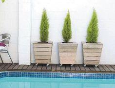 How to Make a Movable Planter. #diy landscap, diy crafts, craftdiy inspir, outdoor, movabl planter, deck idea, planters, fundrais idea, garden