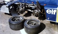10-inch tyres  1976 Tyrrell P34