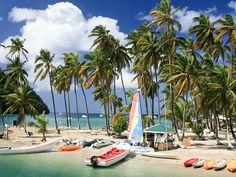 A sailor's paradise in St Lucia
