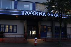 Taverna Greka restaurant on the waterfront, New Westminster, BC.