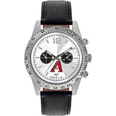 Fanatics.com - Game Time Arizona Diamondbacks Letterman Leather Watch - AdoreWe.com
