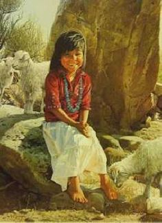 """Navajo Sunshine"" by Ray Swanson"