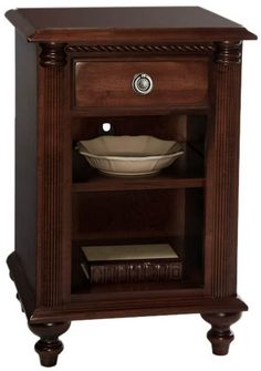 Shop for Durham Furniture Night Stand, and other Bedroom Nightstands at James Antony Home. Durham Furniture, Dallas Furniture Stores, Solid Wood Bedroom Furniture, Luxury Furniture, Bedroom Night Stands, Classic Home Decor, Adjustable Shelving, Interior Design, Nightstands