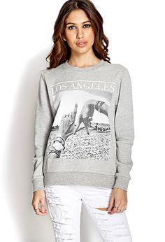 Rep LA Sweatshirt   FOREVER 21 - 2000088679