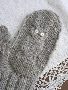 Give a hoot mittens