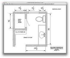 Floor Plans Design For Building A Small 6x8 Bathroom