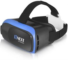 Bnext VR Headset for iPhone Android Phone - Universal Virtual Reality Goggles - Play Your Best Mobile Games 360 Movies With Soft Comfortable New VR Glasses Gadget Gifts For Men, Cool Gadgets For Men, Mens Gadgets, Best Gifts For Men, Latest Gadgets, Best Virtual Reality, Virtual Reality Goggles, Virtual Reality Headset, Augmented Reality