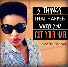 3 things that happen when you cut your hair
