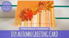 DIY Autumn Greeting Card - HGTV Handmade