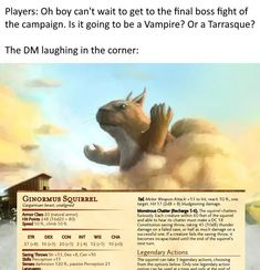 dungeons and dragons Homebrewing Oh, you think! Dungeons And Dragons Memes, Dungeons And Dragons Homebrew, Dnd Stats, Dnd Funny, Dragon Memes, Dnd 5e Homebrew, Dnd Monsters, Fantasy Monster, Dnd Characters