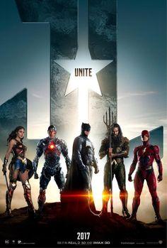 Poster de Liga de la Justicia (2017)