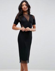 d952d8210f Discover Fashion Online Holiday Wear, Holiday Dresses, Black Pencil Dress,  Dress Black,