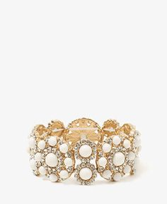 Colored Bead Bangle | FOREVER21 - 1045116670