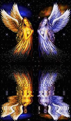 """Angels Reflection.  Repinned by An Angel's Touch, LLC, d/b/a WCF Commercial Green Cleaning Co. """"Denver's Property Cleaning Specialists"""" http://www.angelsgreencleaning.net"""