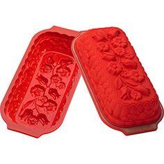 Forma de Silicone Silikomart Bouquet Vermelha 1,6 L