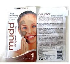Mudd Original Mask Deep Cleansing Pure Clay Formula 10ml - 12 Packets