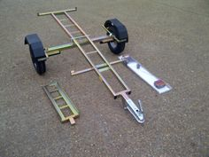 """""""NEW""""  MOTORCYCLE  TRAILER   """"COLLAPSIBLE""""  FLAT PACKED"""