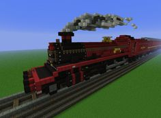 Minecraft Hogwarts Express! http://www.ign.com/articles/2012/09/18/these-14-harry-potter-minecraft-builds-will-blow-you-away