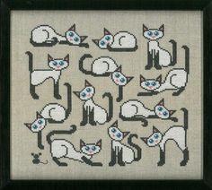 Gallery.ru / кошки Fremme 70-0203 - Мелочи жизни (мои перенаборы) - Venga