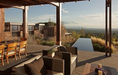 Santa Fe Retreat in New Mexico by Overland Partners Architects
