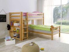 Patrová postel buková Wendy 02 90x200cm