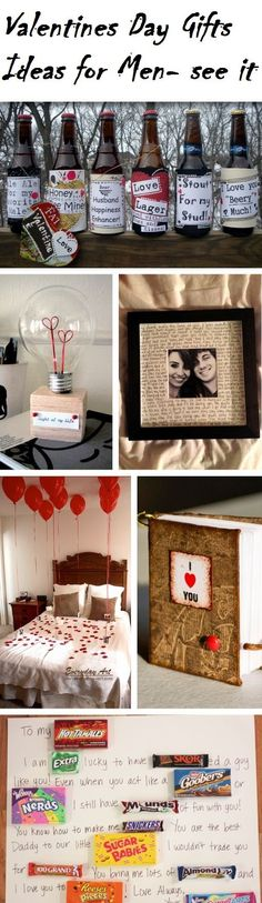 Top 10 VALENTINE'S DAY Gifts for HIM! Get inspired by us quick ...don't be late!