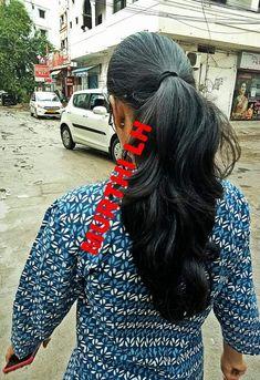 Indian Hairstyles, Ponytail Hairstyles, Hair Ponytail, Beautiful Long Hair, Gorgeous Hair, Long Indian Hair, Muslim Culture, Long Black Hair, Long Braids