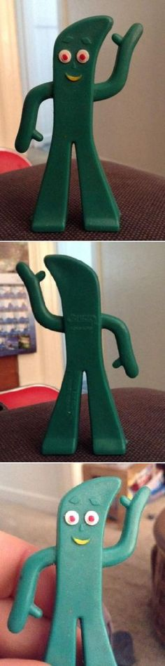 Introduce a whole new generation to Gumby (and his sidekick Pokey the pony). And then explain stop motion clay animation!