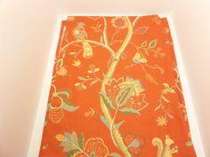 Thibaut Bird Animal Floral Yardage Fabric Kirkwood Red 100% Cotton + FREE SAMPLE!!!! on Etsy, $21.99