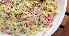 DIT dames en heren... DIT is een superlekker recept. En zeer geschikt voor de tijd van het jaar : koud eten namelijk... Een pastasa...