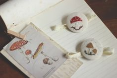la maison boop!: My Winter Home ♡ mushroom vintage embrodiery