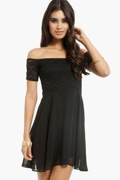 Vanessa Off Shoulder Dress