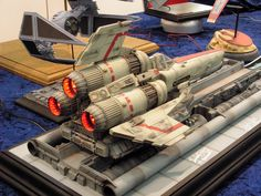 Spaceship Concept, Concept Ships, Battlestar Galactica Model, Sf Movies, New Technology Gadgets, Sci Fi Models, Sci Fi Ships, Model Hobbies, Military Modelling