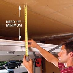 great tips for garage storage.
