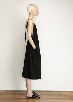 Base Range | Strap Overall Dress