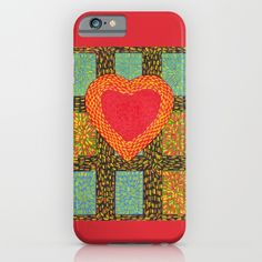Hearts and Sparks iPhone & iPod Case