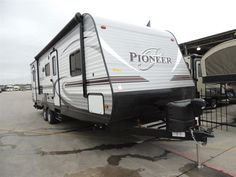 2016 New Heartland Pioneer BH270 Travel Trailer in Texas TX.Recreational Vehicle, rv, 2016 Heartland PioneerBH270, Bike Rack, Black tank flush, Enclosed Underbelly, Night shades, Pioneer Value Package, Power Awning w/ LED Light Strip, POWER STAB JACKS, Power Tongue Jack, RVIA Seal, Spare Tire and Carrier, Winterization of Unit,