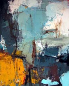 """Lars Kristian Hansen – """"Dirty Fish and other good"""", Beschreibung Acryl, Lage … - Peinture Abstraite Contemporary Abstract Art, Abstract Landscape, Contemporary Artists, Picasso Paintings, Abstract Paintings, Modern Art Paintings, Abstract Canvas Art, Abstract Portrait, Portrait Paintings"""