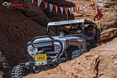 Toyota Land Cruiser in competition, FJ, Sand Hollow #sandhollow #fj #landcruiser #toyota #lowrangeoffroad