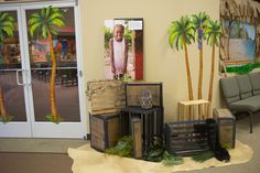 Save those crates! - Shipwrecked VBS #shipwrecked #shipwreckedVBS #decorating