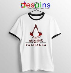 Assassins Creed Valhalla Ringer Tee Adventure Game