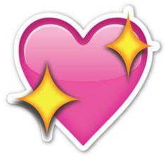 Sparkling Heart | EmojiStickers.com