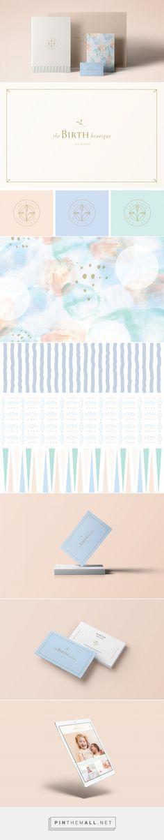 The Birth Boutique Branding by Kati Forner | Fivestar Branding – Design and Branding Agency & Inspiration Gallery